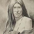 Apache Girl 1906 by Lise PICHE