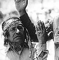 Apache's Signing 100th Anniversary Fort Apache Arizona 1970 by David Lee Guss
