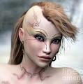 Aphrodite by Sandra Bauser Digital Art