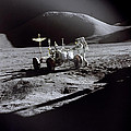 Apollo 15 Lunar Rover by Commander David Scott