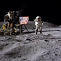 Apollo 16 Lunar Landing Astronaut Young by Movie Poster Prints
