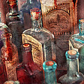 Apothecary - A Series Of Bottles by Mike Savad