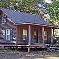 Appalachian Cabin by Duane McCullough