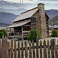 Appalachian Mountain Cabin by Randall Nyhof
