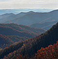 Appalachian Mountains North Carolina by Don  Sipley