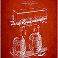 Apparatus For Beer Patent From 1900 - Red by Aged Pixel