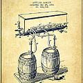 Apparatus For Beer Patent From 1900 - Vintage by Aged Pixel