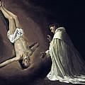 Apparition Of Apostle Saint Peter To Saint Peter Nolasco by Francisco de Zurbaran
