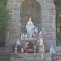 Apparition Of Virgin Mary by Art Dingo