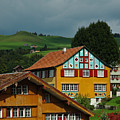 Appenzell Famous Windows by Ginger Wakem