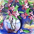 Apple Blossoms by Sherry Harradence