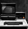 Apple II Personal Computer 1977 by Bill Cannon