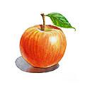 Red Apple by Irina Sztukowski