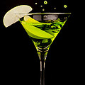 Apple Martini Splash by Richard ONeil