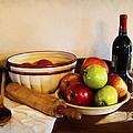 Apple Pie Impressions by Cricket Hackmann