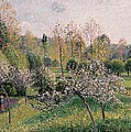Apple Trees In Blossom by Camille Pissarro