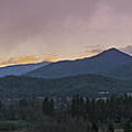 Applegate Valley Se Winter Evening by Mick Anderson
