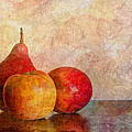 Apples And A Pear by Heidi Smith