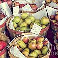 Apples And Pears For Sale by Bryan Mullennix