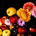 Apples And Suflowers by Gerald Kloss