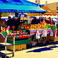 Apples Cortlands Lobos Honey Crisps Mcintosh Atwater Market Apple Fruit Stall Foodart Carole Spandau by Carole Spandau