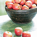 Apples On The Table  by Carol Groenen