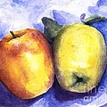 Apples Paired by Maria Hunt