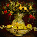 Apples Pears And Tulips by Jeff Burgess
