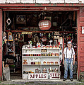 Apples. The Natural Temptation - Farmer And Old Farm Signs by Gary Heller
