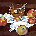 Apples With Honey by Vera Lysenko