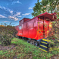 Appomattox Park Caboose by Greg Hager