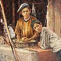 Apprentice Chefs by Dali Higa
