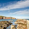 Approach To St Abbs Harbour by David Head