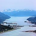 Approaching Juneau by Kristin Elmquist