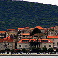 Approaching Korcula by Laurel Talabere