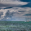Approaching Storm At Whale Harbor by Robert Swinson