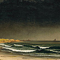 Approaching Storm. Beach Near Newport by Martin Johnson Heade