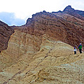 Approaching The Jagged Peaks In Golden Canyon In Death Valley National Park-california  by Ruth Hager