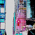 Approaching Times Square by Teresa Mucha