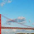 April 25th Bridge In Lisbon by Luis Alvarenga