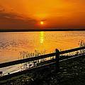 April Sunset by Mechala Matthews