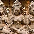 Apsara - Angkor Wat by Luciano Mortula