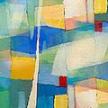 Aqua Abstract by Lutz Baar