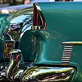 Aqua Marine Blue Chevy by Dean Ferreira