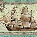 Aqua Maritime 1 by Debbie DeWitt
