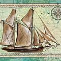 Aqua Maritime 2 by Debbie DeWitt