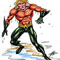Aquaman by John Ashton Golden