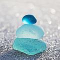 Aquamarine Ice Light by Barbara McMahon