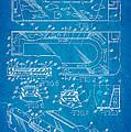 Aquarium Bath Patent Art 1982 Blueprint by Ian Monk