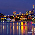Aquatic Park Blue Hour by Kate Brown